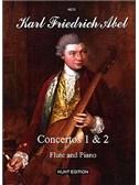 Abel, Carl Friedrich : Livres de partitions de musique