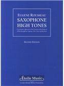 Eugene Rousseau: Saxophone High Tones