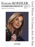 Ernesto Koehler: 35 Exercises For Flute Opus 33 - Book 1