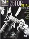 Tab+: 25 Top Metal Songs - Tab. Tone. Technique. Guitar Tab Sheet Music