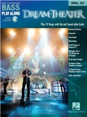 Bass Play-Along Volume 47: Dream Theater (Book/Online Audio)