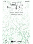 Amid The Falling Snow (SATB)