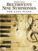 Themes From Beethoven's Nine Symphonies (Easy Piano)