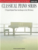 John Thompson's Modern Course: Classical Piano Solos - Second Grade