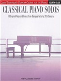 John Thompson's Modern Course: Classical Piano Solos - Fourth Grade