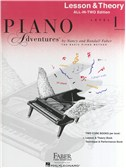Piano Adventures: Lesson And Theory Book - Level 1 (Book Only)