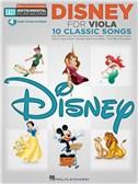 Viola Easy Instrumental Play-Along: Disney (Book/Online Audio)