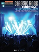 Tenor Sax Easy Instrumental Play-Along: Classic Rock (Book/Online Audio)