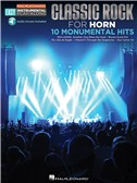 Horn Easy Instrumental Play-Along: Classic Rock (Book/Online Audio)