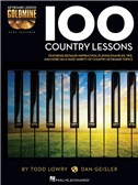 Keyboard Lesson Goldmine: 100 Country Lessons (Book/2 CDs)