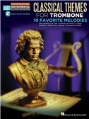 Trombone Easy Instrumental Play-Along: Classical Themes (Book/Online Audio)