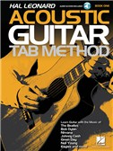 Hal Leonard Acoustic Guitar Tab Method   Book 1 (Book/Online Audio)