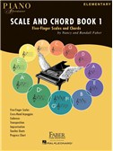 Faber Piano Adventures: Scale And Chord Book 1 - Five-Finger Scales And Chords
