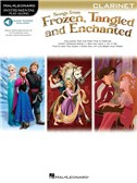 Songs From Frozen, Tangled And Enchanted: Clarinet (Book/Online Audio)