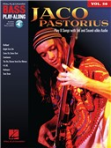 Bass Play-Along Volume 50: Jaco Pastorius (Book/Online Audio)