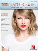 Taylor Swift: Original Keys For Singers