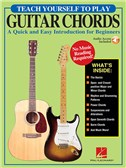 Teach Yourself To Play Guitar Chords (Book/Online Audio)