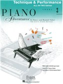 Faber Piano Adventures: Level 3 - Technique and Performance (Book/CD)