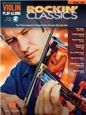 Violin Play-Along Volume 53: Rockin' Classics (Book/Online Audio)