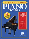 Teach Yourself To Play Piano Songs: Clocks And 9 More Modern Rock Hits (Book/Online Media)