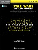 Hal Leonard Instrumental Play-Along: Star Wars - The Force Awakens (Violin) (Book/Online Audio)