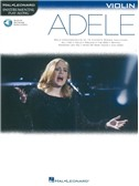 Hal Leonard Instrumental Play-Along: Adele - Violin (Book/Online Audio)