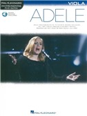 Hal Leonard Instrumental Play-Along: Adele - Viola (Book/Online Audio)