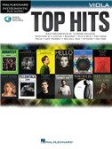 Hal Leonard Instrumental Play-Along: Top Hits - Viola (Book/Online Audio)