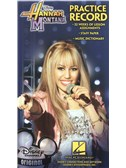 Hannah Montana: Practice Record Book