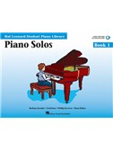Hal Leonard Student Piano Library: Piano Solos Book 1 (Book/Online Audio)