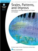 Scales, Patterns And Improvs - Book 1 (Book/Online Audio)