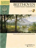 Ludwig van Beethoven: Easier Piano Variations (Schirmer Performance Edition)