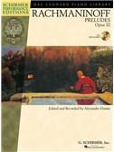 Serge Rachmaninoff: Preludes, Op. 32 - Book/CD (Schirmer Performance Editions)