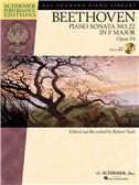 Ludwig Van Beethoven: Piano Sonata No.22 In F Op.54 (Schirmer Performance Edition)