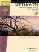 Ludwig Van Beethoven: Piano Sonata No.25 In G Op.79 (Schirmer Performance Edition)