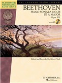 Ludwig Van Beethoven: Piano Sonata No.28 In A Op.101 (Schirmer Performance Edition)