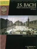 J.S. Bach: First Lessons In Bach - 28 Pieces (Schirmer Performance Edition)