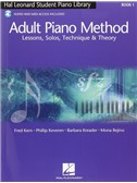 Hal Leonard Adult Piano Method: Book 1 - Lessons, Solos, Technique & Theory (Book/Online Audio)