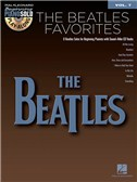 Beginning Piano Solo Play-Along Volume 7: The Beatles Favourites