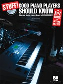Stuff! Good Piano Players Should Know (Book And CD)