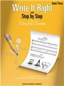Edna Mae Burnam: Write It Right - Book 3