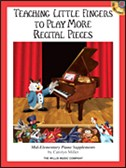 Teaching Little Fingers More Recital Pcs Bk/Cd