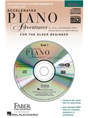 Accelerated Piano Adventures®: Lesson Book 1 (CDs)