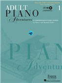 Faber Piano Adventures: Adult Piano Adventures All-in-One Lesson - Book 1