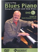 Learn To Play Blues Piano: Boogie Woogie And Slow Blues 3 (DVD)