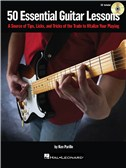 50 Essential Guitar Lessons (Book And CD)