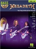 Bass Play-Along Volume 44: Megadeth