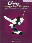 Disney Songs For Singers: High Voice