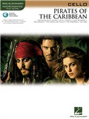Klaus Badelt: Pirates Of The Caribbean (Cello) (Book/Online Audio)