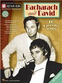 Bacharach And David Jazz Play Along Volume 123 Book/CD